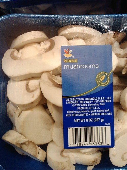 labels there I fixed it Mushrooms - 7896942080