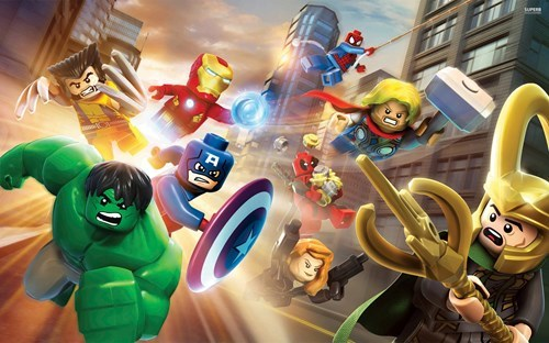 lego xbone lego marvel super heroes Video Game Coverage - 7897603584