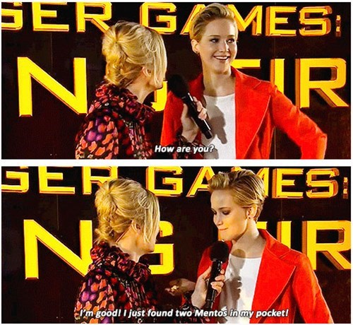 catching fire mentos jennifer lawrence - 7897630976
