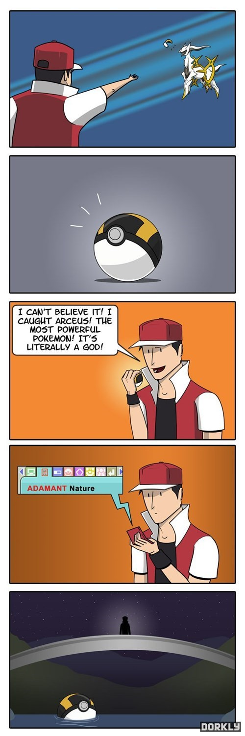 Pokémon dorkly arceus web comics - 7897720832