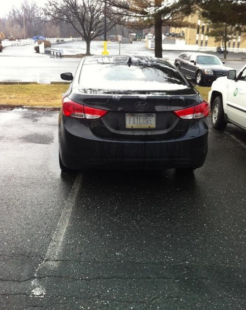 failure license plates parking - 7897803776