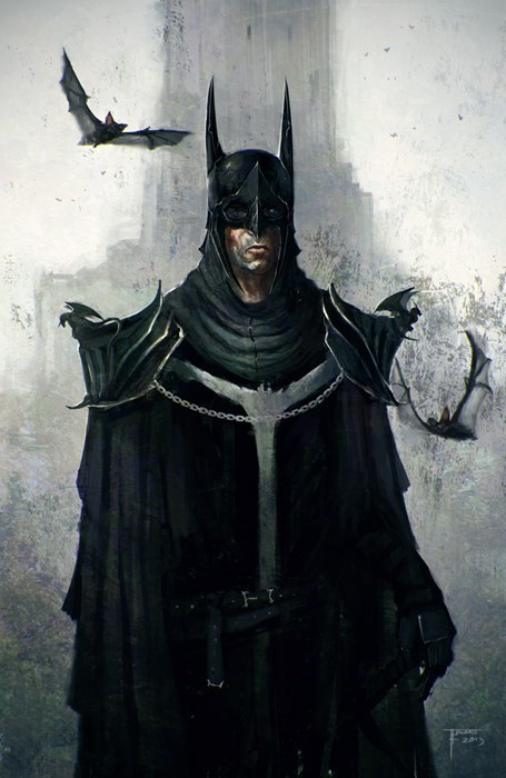 Fan Art batman dark ages concept - 7897807104