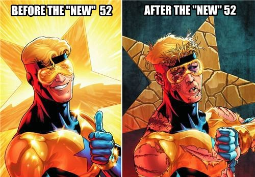 booster new 52 off the page - 7897815296