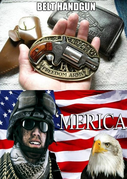 belts guns merica - 7897842176