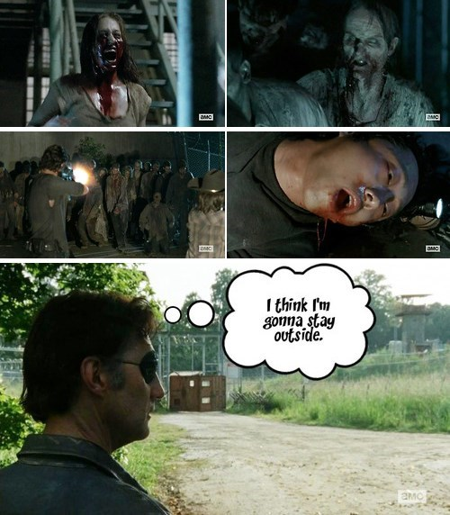 infection,the governor,The Walking Dead