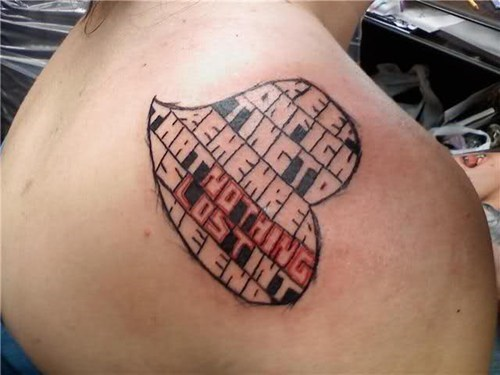 wtf text tattoos funny - 7897873664