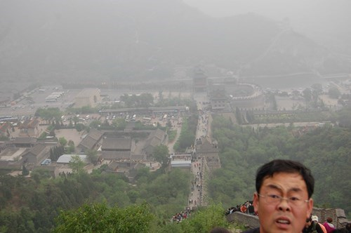 great wall of china,pics,photobomb