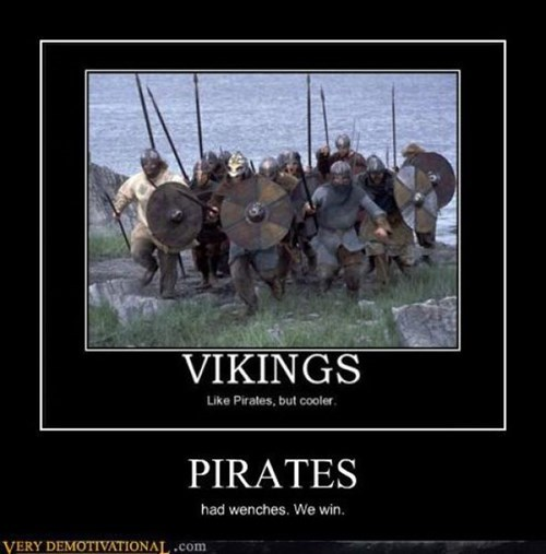 funny pirates wenches vikings - 7897987840