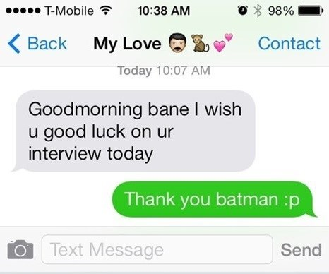 bane autocorrect text AutocoWrecks g rated