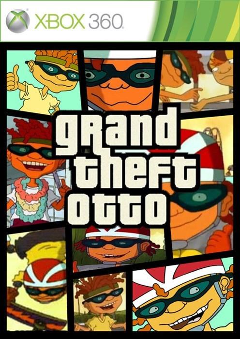 games rocket power Grand Theft Auto parenting - 7898062080
