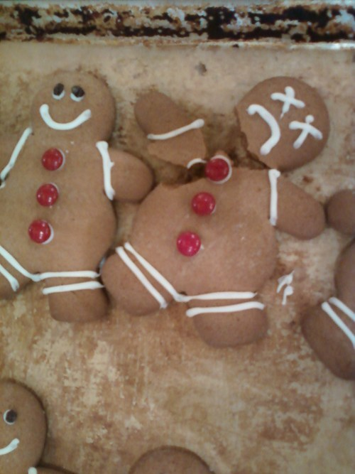 kids parenting cookies gingerbread men - 7898106368