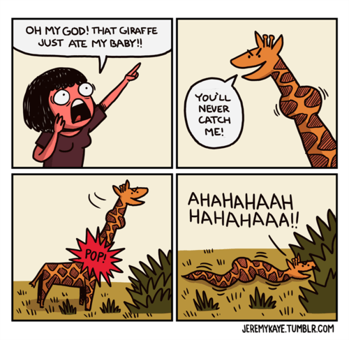 funny giraffes true facts web comics - 7898120704