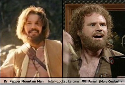 totally looks like,dr-pepper-mountain-man,beards,funny,Will Ferrell