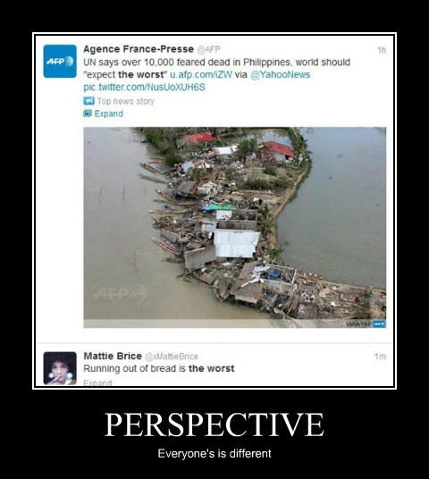PERSPECTIVE Everyone's is different