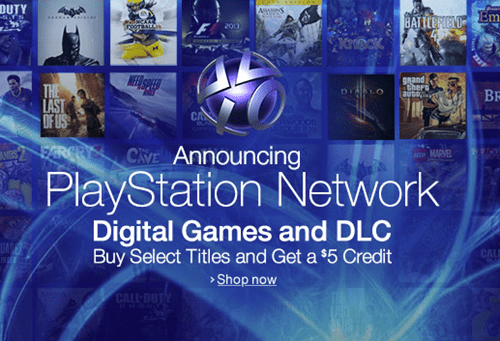 Amazon Teaming Up With PlayStation on PSN Store - Video Game