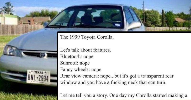 corolla cars funny selling - 7899397