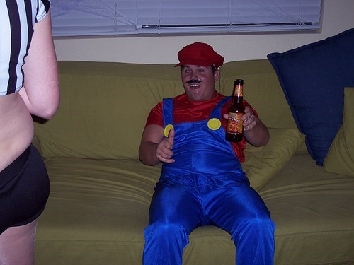drunk mario funny plumber video games - 7899451392