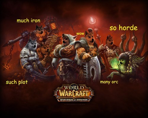 world of warcraft shibe doge wow such tag - 7899515392