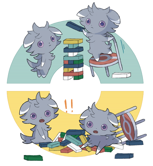 Pokémon art espurr - 7899532288