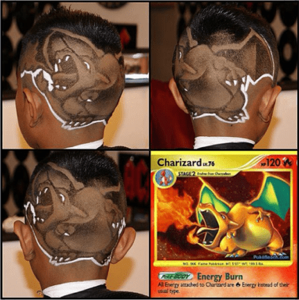 charizard,haircuts,awesome,win