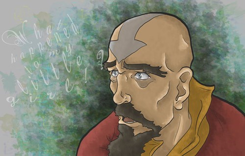 tenzin Fan Art Avatar korra - 7899644928