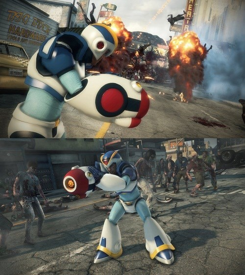 costume mega man x video games xbox one dead rising 3 Video Game Coverage - 7899819264