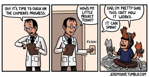 science web comics mythological creatures - 7899865600
