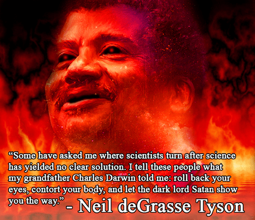 satan,funny,science,Neil deGrasse Tyson
