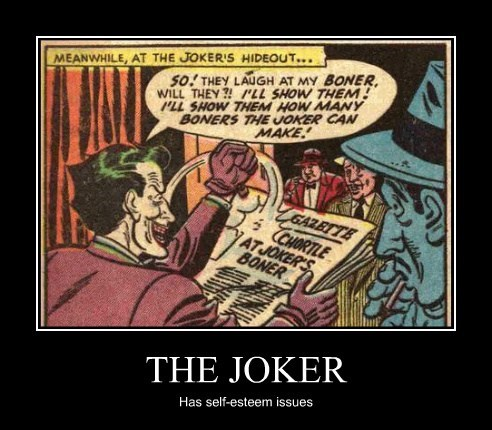 batman joker funny no no tubes issues wtf