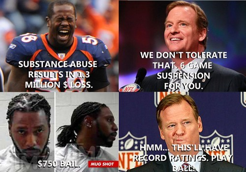 football,Hypocrisy,nfl