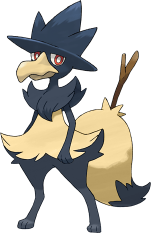 murkrow,pokemon fusions,Braixen