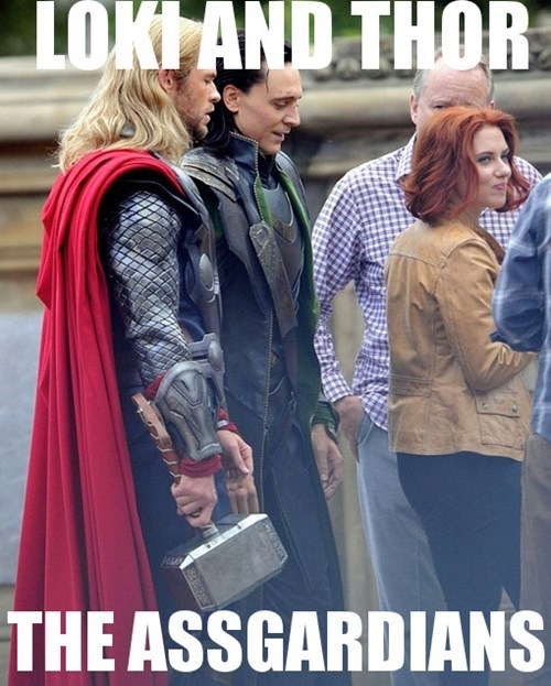 Black Widow loki Thor asgardians - 7900866560