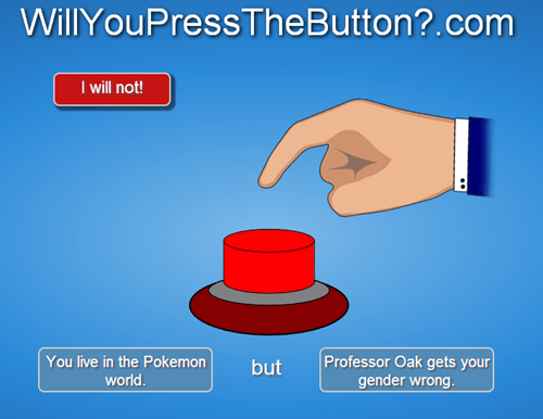 willyoupressthebutton Pokémon professor oak - 7900878592