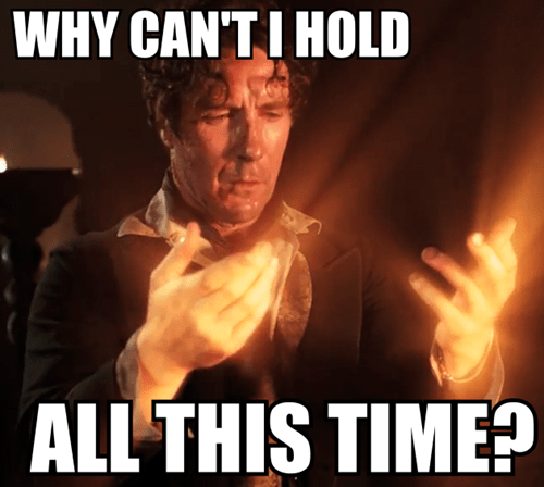 why cant i hold all these x time doctor who - 7900920832