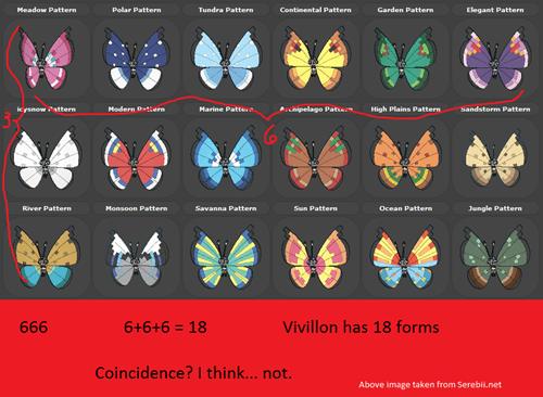 Pokémon vivillon - 7900935936