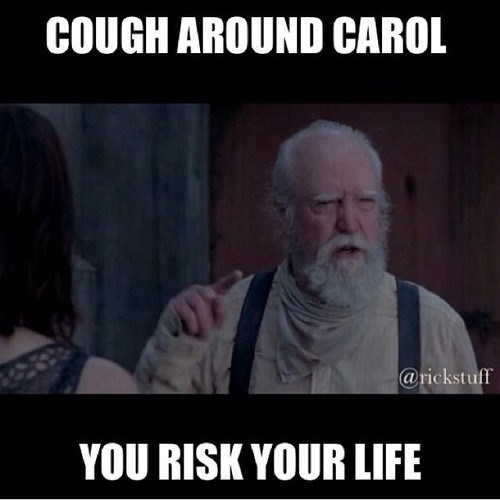 hershel greene,infection,carol peletier