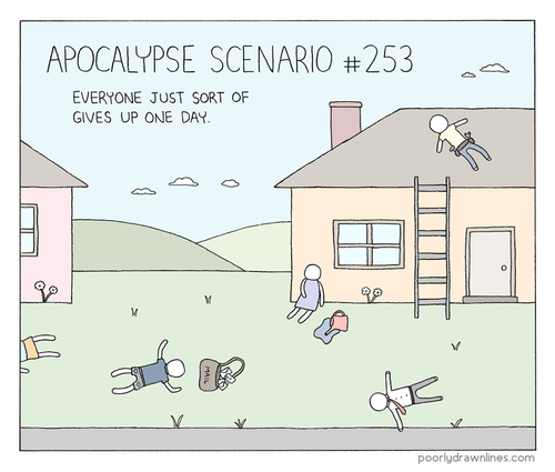 sad but true apocalypse funny web comics - 7901143040