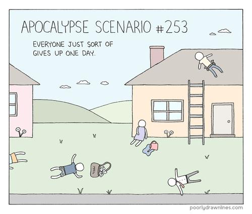 sad but true apocalypse funny web comics - 7901143040