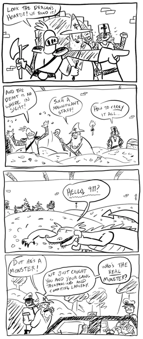 dragons dungeons funny web comics