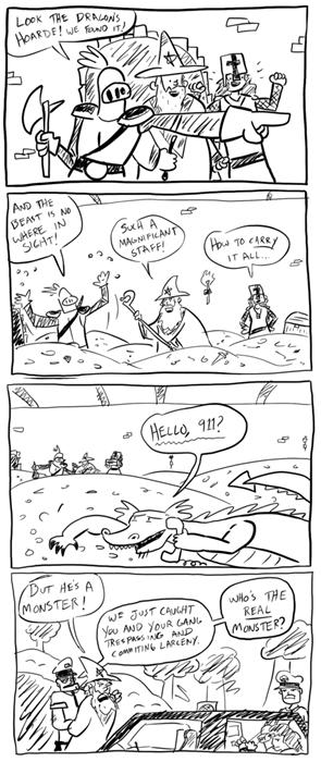 dragons dungeons funny web comics - 7901165312