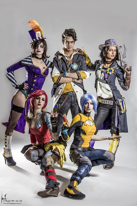cosplay borderlands 2 - 7901165824