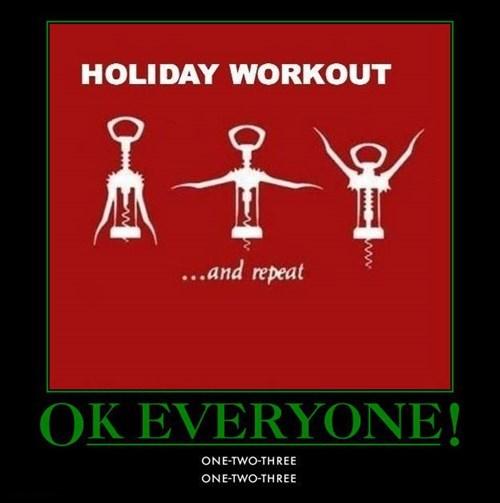 exercise wine funny holidays - 7901224960