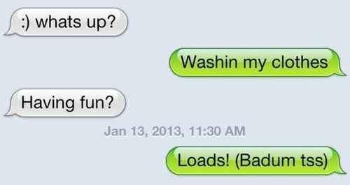 laundry puns text - 7901277696