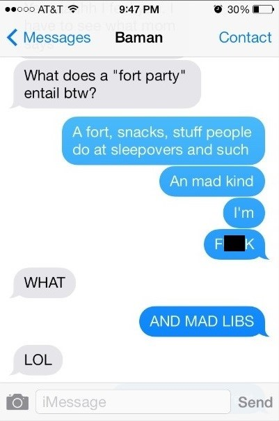 autocorrect text mad libs