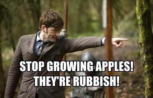 apples,doctor who