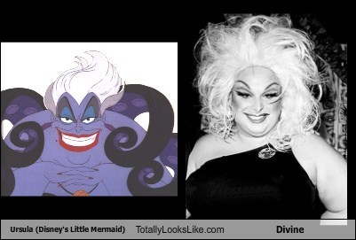 Divine funny totally looks like ursula - 7901787904