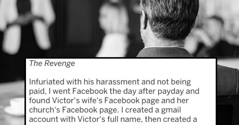 employee revenge story