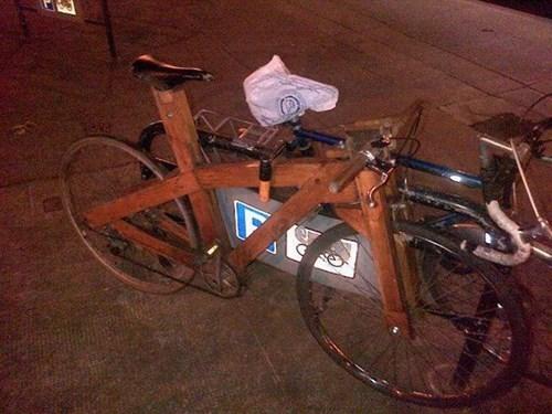 bikes there I fixed it wood - 7902368000
