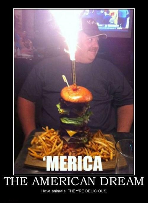 American dream animals americana funny wtf - 7902389760