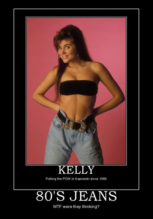 belt funny saved by the bell jeans 80s - 7902479616